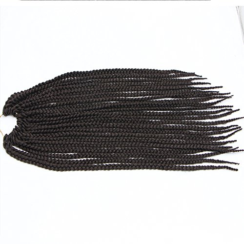 FeiBin Synthetic Hair Crochet Braids Medium Box Braids Senegalese Twist Hair(Havana Mambo Twist Style) 18