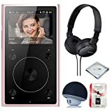 FiiO X1 2nd Gen (Rose Gold), mp3 Player - High Resolution, Portable, Bluetooth Music Player + MicroSD Card + Headphone & Speaker