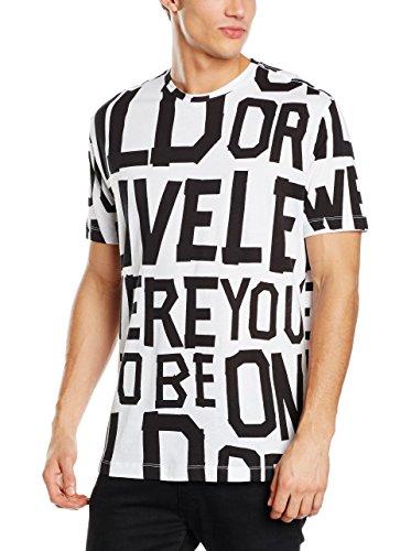 Love Moschino T-Shirt (M-295-Ts-47333) - L(DE) / L(IT) / L(EU) - weiss