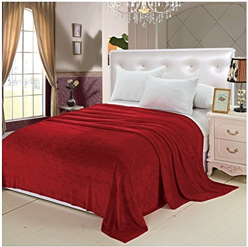 Deluxe Super Soft Luxurious Micro Plush Flannel Blanket - KI