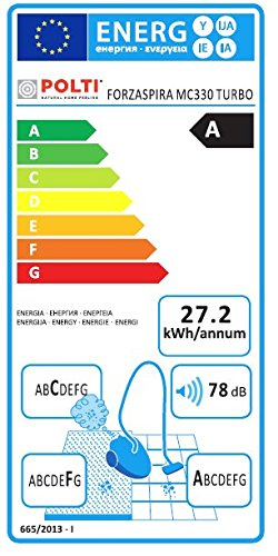 polti aspirateur multi cyclonique sans sac forzaspira mc330 classe energ tique a. Black Bedroom Furniture Sets. Home Design Ideas