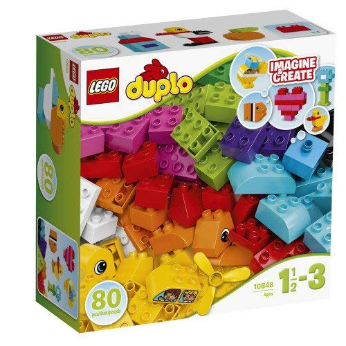 Duplo Lego My First Bricks Building Set - 80 pcs.