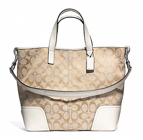 Coach Hadley Signature Duffle Handbag Tote 28981