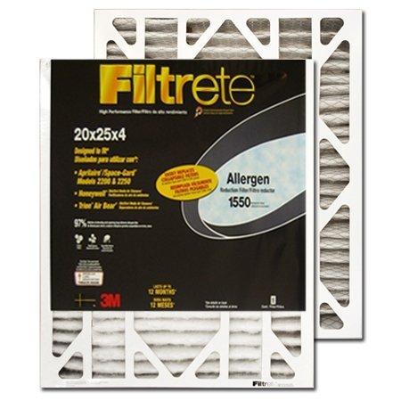 """3M Filtrete 4"""" Allergen Reduction Filter- 20x25x4 #DP03DC..."""