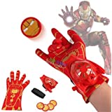 Fancydresswale Avenger disc Shooters with Light and Sound (Ironman)