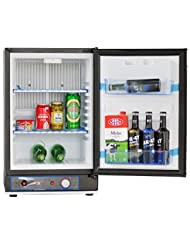 Smad LPG Camping Refrigerator AC DC Compact Fridge for RV Vehicle Boat,40L