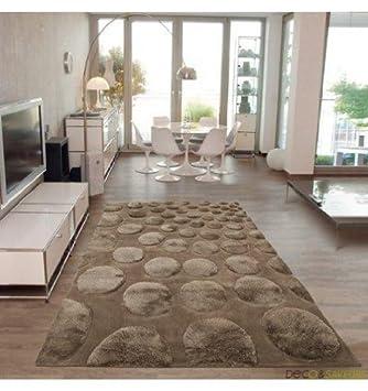 Arte Espina - Tapis Salon Cocoon Taupe - 170 x 240 cm ...