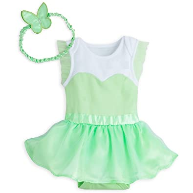 Disney Store Tinkerbell Baby Girl Short Sleeve Costume Dress with Wings u0026 Headband Outfit (9  sc 1 st  Amazon.com & Amazon.com: Disney Store Tinkerbell Baby Girl Short Sleeve Costume ...