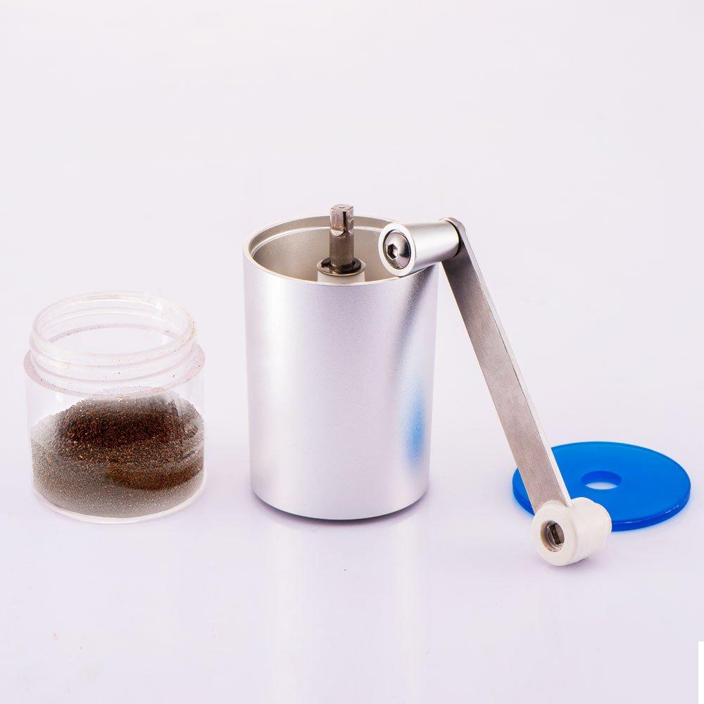 NMTGBDF cafetera Máquina de café de la mano de la amoladora de café del mercado de fábrica de la amoladora de café, los 11.5cm 4.5 *: Amazon.es: Hogar