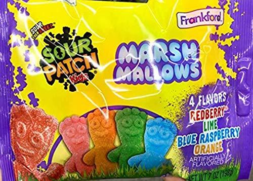 Sour Patch Kids Marshmallows, 7 OZ Bag (3 PACK)