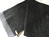 Lululemon Ivivva Natually Nice Scarf -Super Fun Grey w/Shimmering at the end