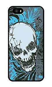 Cracked Skulls - Personalized Crystal Clear Enamel Hard Back Shell Case Cover Skin for iphone 4s