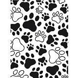 Darice 1218-03 Paw Print Design Embossing Folder, 4.25 by 5.75-Inch
