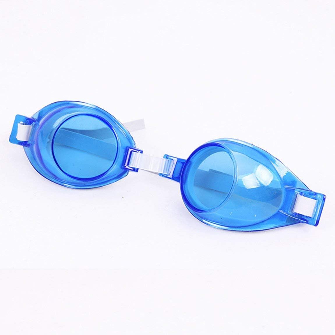 Couleur: Bleu 73JohnPol Lunettes de Natation Lunettes Anti-Brouillard imperm/éable Coupe-Vent /étanche Protection Anti-UV Bande dessin/ée Protection UV pour Enfants Enfants Adolescents