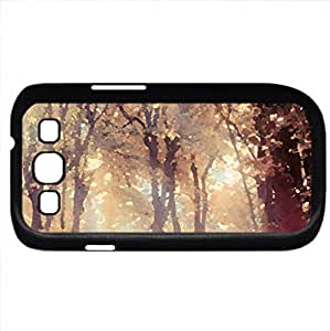 Plant (Forests Series) Watercolor style - Case Cover For Samsung Galaxy S3 i9300 (Black)