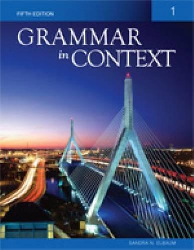 Grammar in Context Book 1 / Edition 4