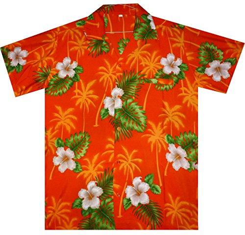 V.H.O. - Camisa casual - para hombre naranja