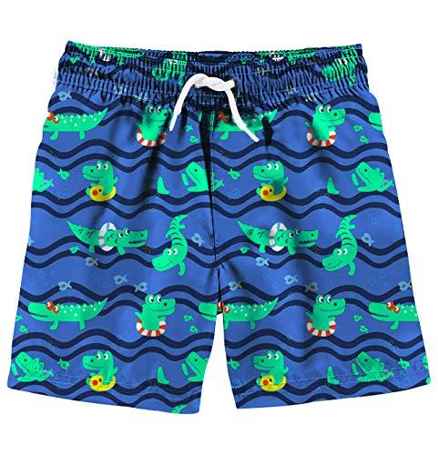 (Uideazone Boys 3D Printed Funny Swim Trunks Quick Dry Beachwear Sports Running Swim Board Shorts Mesh Lining)