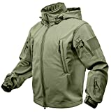 Rothco Special Ops Soft Shell Jacket, Olive Drab, XX-Large