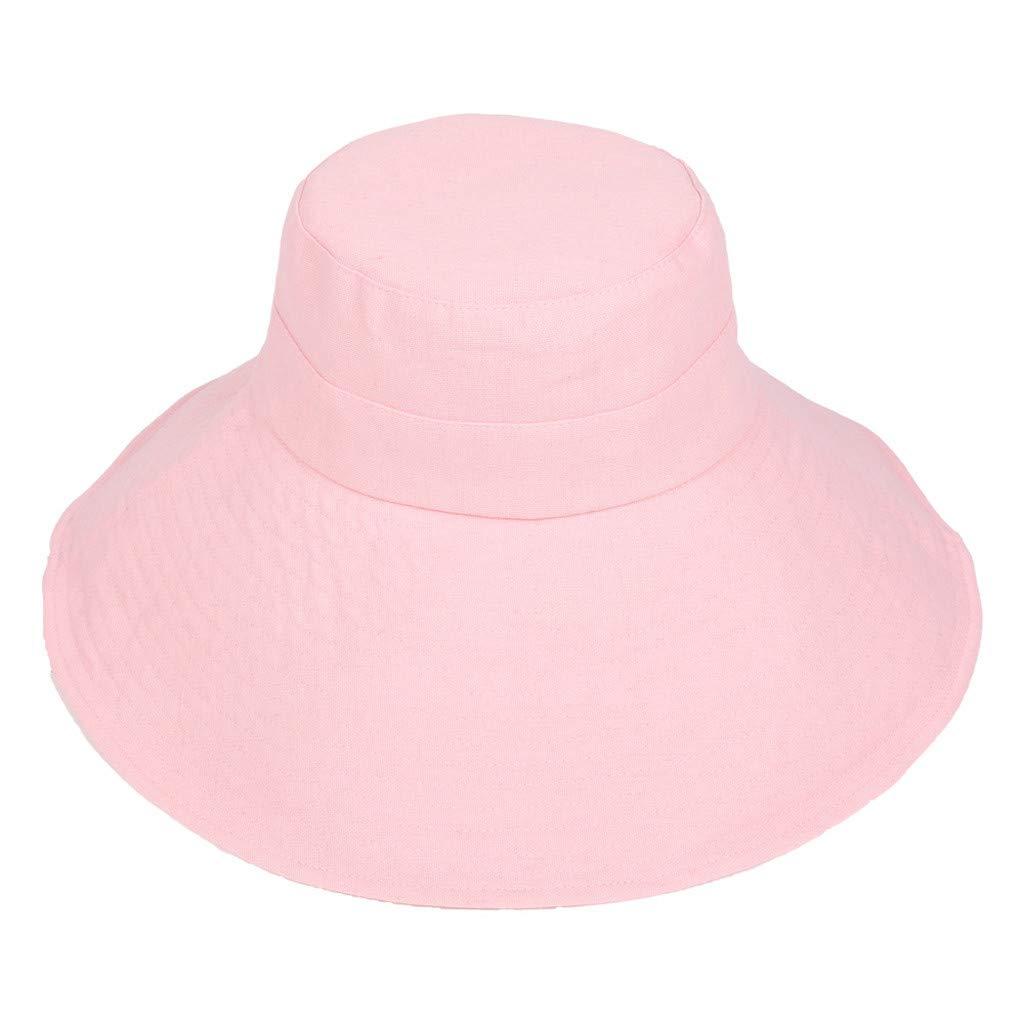 Basin Cap Summer Foldable Mesh Wide Brim Beach Sun Protective Floppy Bucket Hat