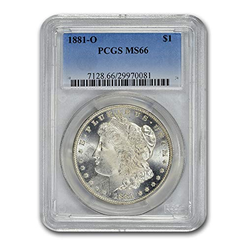 1881 O Morgan Dollar MS-66 PCGS $1 MS-66 PCGS