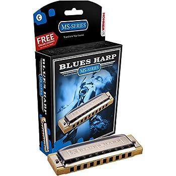 Hohner Blues Harp Harmonica, Key of G