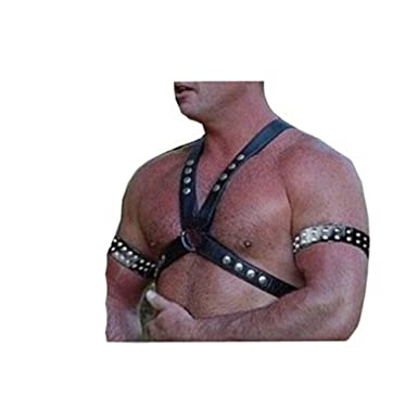 Mens leather sex gear