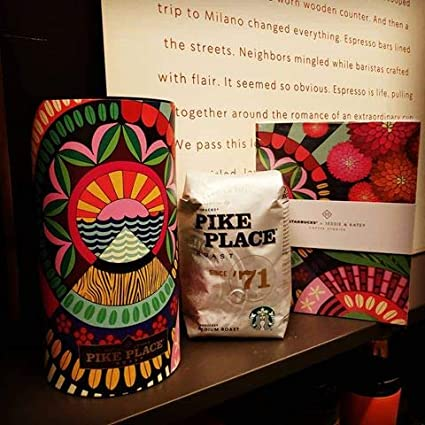 Starbucks 2018 JESSIE /& KATEY Special Edition Pike Place Chapter 3 Stories