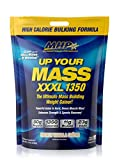 MHP UYM XXXL 1350 Mass Building Weight Gainer, Muscle Mass Gains, w/50g Protein, High Calories, 11g BCAAs, Leucine, French Vanilla Creme, 16 Servings