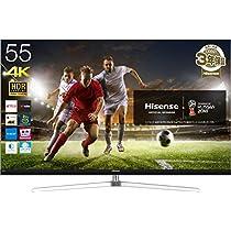 【お買い得】4K ULED 55v型液晶テレビ ハイセンス HJ55N8000 メ...