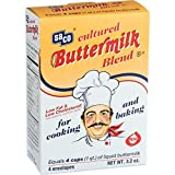 Saco Foods Inc Cultured Powdered Buttermilk Blend, 3.2 Ounce - 6 per case