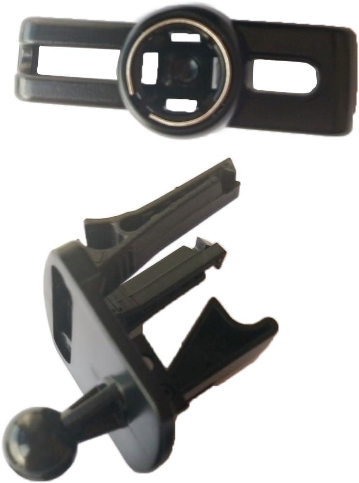for Garmin Nuvi 1450 1450T 1455 1490 1490T 1495 Black D DOLITY Car Air Vent Mount