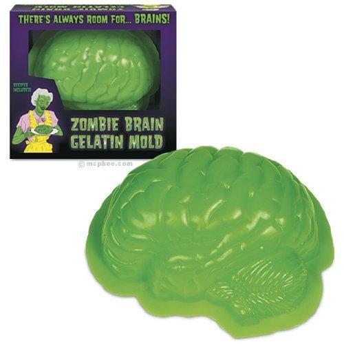 Archie McPhee Gelatin Mold Zombie Brain