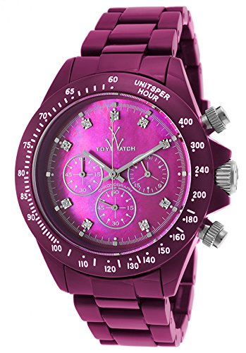 ToyWatch Fluo Chronograph Purpe Unisex Watch FL22AM