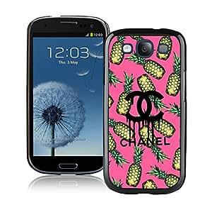 NEW DIY Design Beautiful Fashion Hard Shell Samsung S3 I9300 Cover Case 48 Black