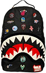 Sprayground Unisex NBA All Over Logo Backpack
