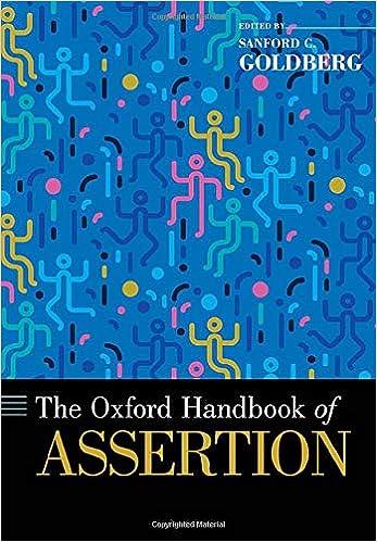 The Oxford Handbook of Assertion (OXFORD HANDBOOKS SERIES) - Original PDF