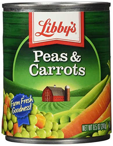 Libby's Peas & Carrots, 8.5-Ounces Cans (Pack of 12)
