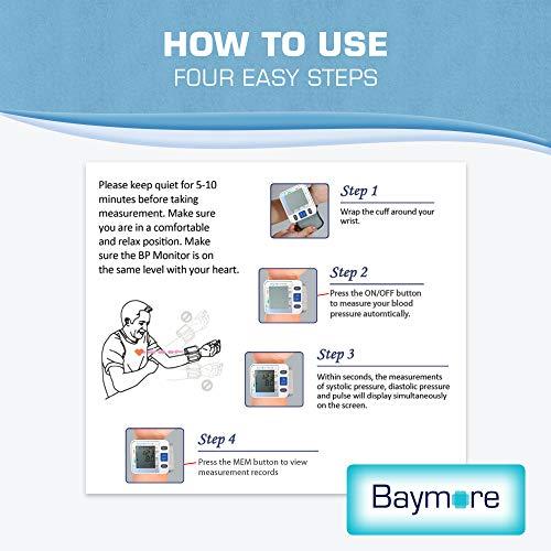 Baymore Digital Blood Pressure Monitor