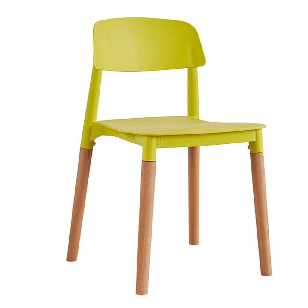 プラスチック製の青いキッチンチェアモダンスタイルの屋内/屋外のシックなダイニングベッドルームビストロカフェ布張りのサイドチェアスツールシート (色 : Green, サイズ さいず : Set of 3) B07DFWRY7V Set of 3|Green Green Set of 3