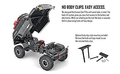 Redcat Racing Everest Gen7 PRO 1/10 Scale Off-Road Truck Crawler Black Version