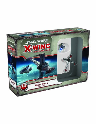Star Wars X-Wing: Rebel Aces Expansion Pack (Fantasy Flight Games X Wing)