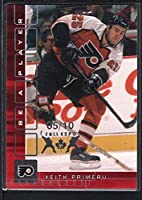 Keith Primeau 2001/02 Bap Memorabilia Ruby Fall Expo Embossed Sp #05/10