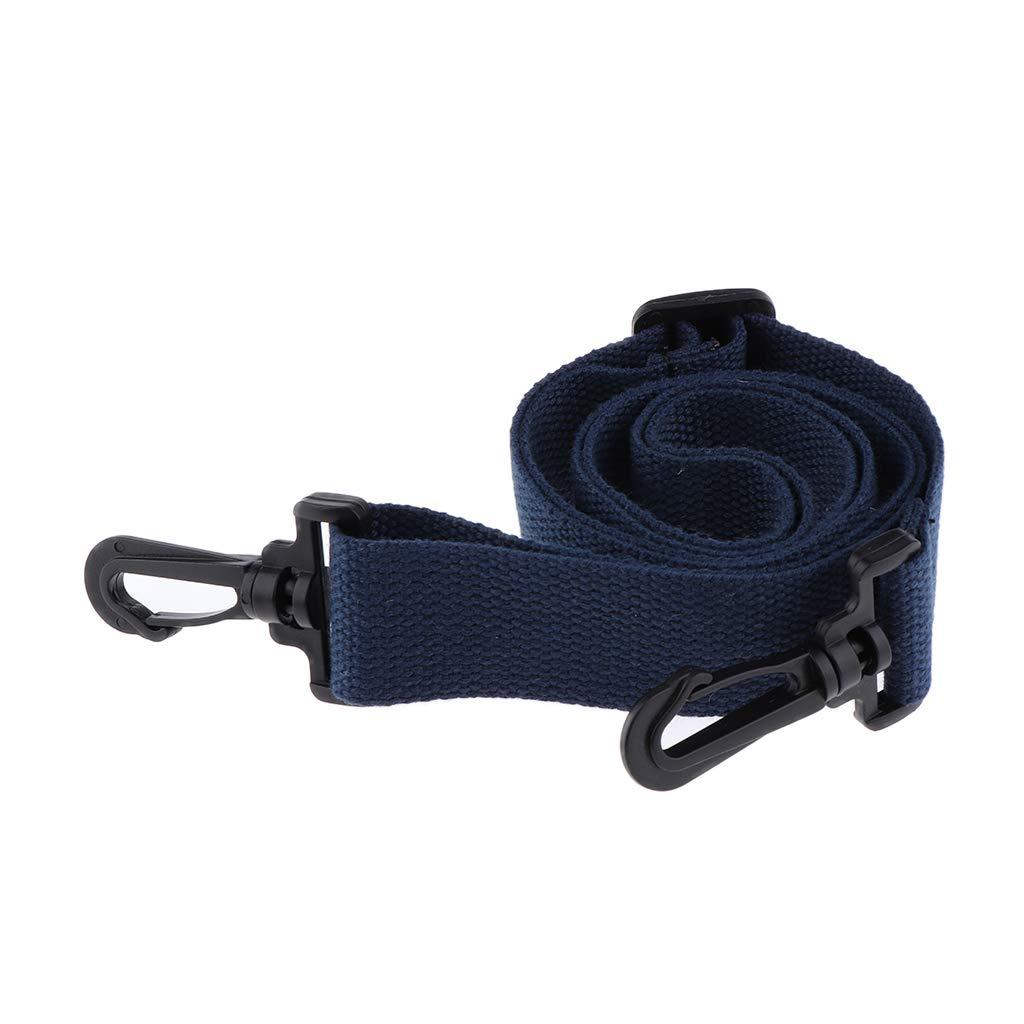 Blue Fenteer Adjustable Canvas Crossbody School Shoulder Bag Strap Replacement Belt 120cm as described