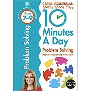 10-Minutes-a-Day-Problem-Solving-Ages-7-9-Key-Stage-2-Made-Easy-Workbooks-Paperback--1-July-2015