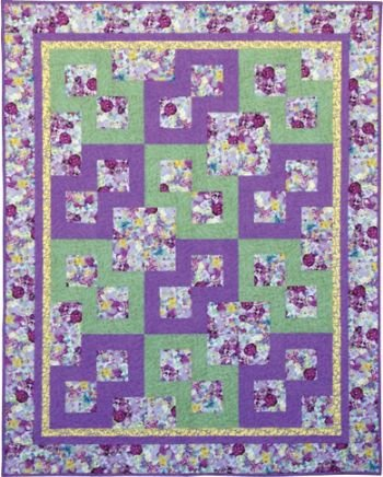 Amazon Easy Quilt Pattern Makes Lap Twin Full Or Queen Size