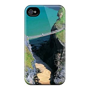 Excellent Design Expansive Bridge Case Cover For Iphone 4/4s