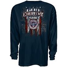 Cyberteez Chris Kyle Frog Foundation God Country Family Navy Longsleeve American Sniper T-Shirt