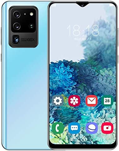 fosa1 6.26-inch Full Screen Smartphone, S21U Face Identification Unlocked Cell Phone, 5-Point Touching Screen, Dual Cards Dual Standby, 7731 Quad-core CPU, Support for Android 6.0(Blue) WeeklyReviewer