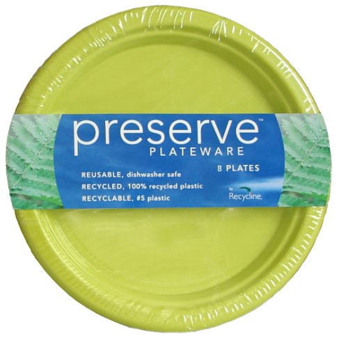 Amazon.com Preserve Plateware Made with Recycled Plastics Large Pear Green 8 Plates Health \u0026 Personal Care  sc 1 st  Amazon.com & Amazon.com: Preserve Plateware Made with Recycled Plastics Large ...